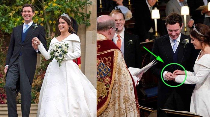 Insiden Royal Wedding, Jack Brooksbank Panik Saat Pakaikan Cincin ke Putri Eugenie, Tak Muat?