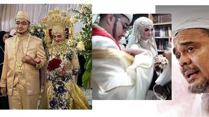 BOCORAN VIDEO Pernikahan Putri Rizieq Shihab, Mempelai