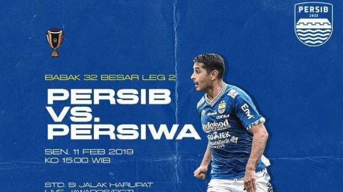 UPDATE HASIL Persib vs Persiwa Piala Indonesia Skor Masih 0-0 Live Streaming iNews TV, Juga Usee TV