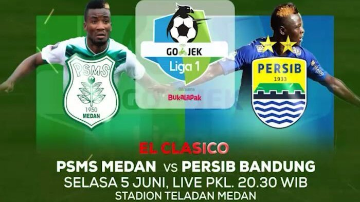 Live Streaming Persib Bandung vs PSMS Medan 20.30 WIB - Siaran Langsung Indosiar Liga 1 2018!