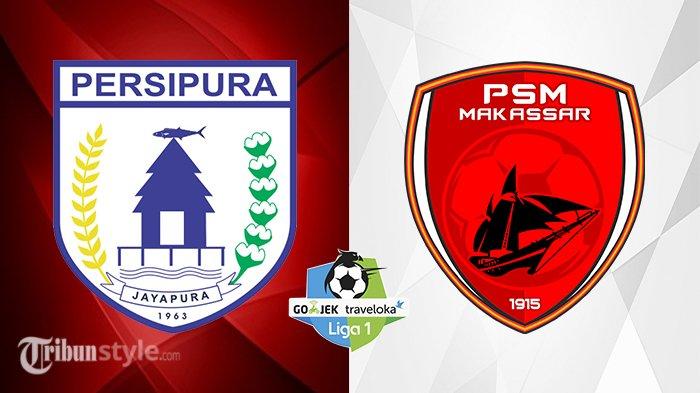 Live Streaming Persipura Jayapura vs PSM Makassar - Siaran Langsung Liga 1 di Indosiar 18.30 WIB