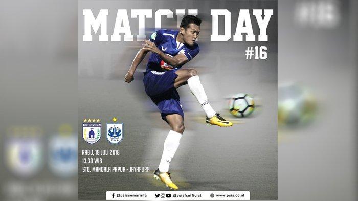 Live Streaming Vidio.com Persipura vs PSIS Semarang 13.30 WIB - Siaran Langsung Liga 1 2018!