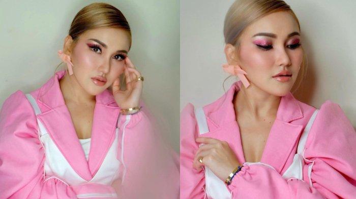 Make Up Korean Look, Paras Cantik Ayu Ting Ting Rambut Blonde Disebut Bak Barbie, Intip Potretnya!