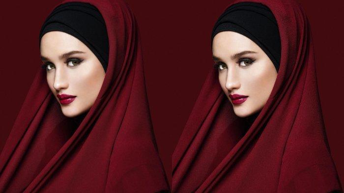 Ucapkan Selamat Idul Adha, Pesona Cantik Cinta Laura Kenakan Hijab Panen Pujian Bak Barbie Salihah