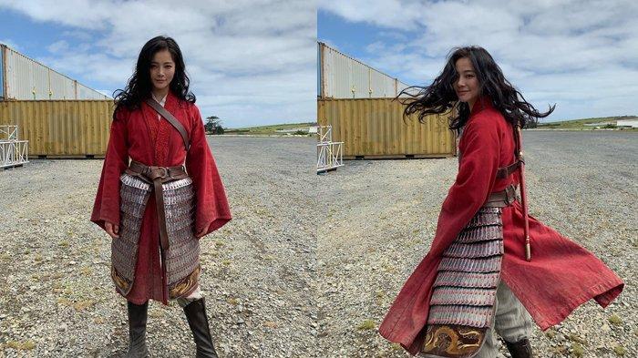 Pesona Liu Yaxi, stunt double Liu Yifei dalam film Mulan.