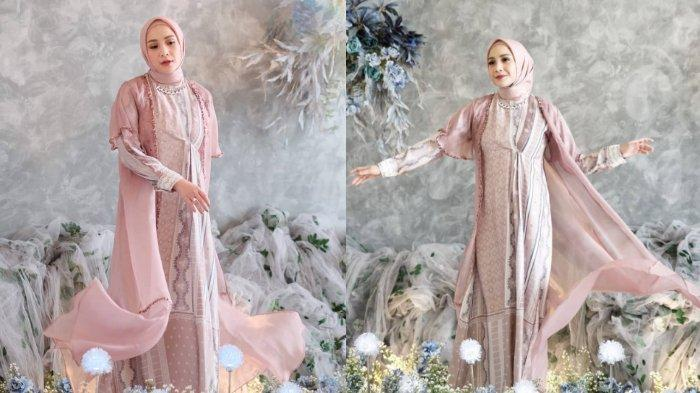 Pesona Nagita Slavina dalam balutan hijab.