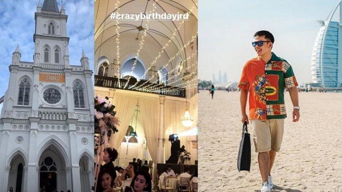 Gak Cuma Gelar Pesta Ulang Tahun Bak Crazy Rich, Jordi Onsu Juga Ajak Tamunya ke Universal Studio