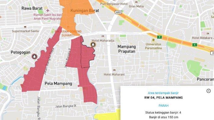 Pantau Kondisi Terkini Banjir Jakarta dan Sekitarnya melalui Laman PetaBencana.id, Simak Caranya