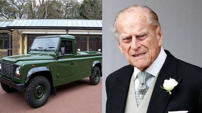 Pangeran Philip Dimakamkan Hari Ini, Peti Mati Duke of Edinburgh Dibawa dalam Land Rover Defender