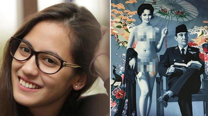Dikeroyok Netizen Usai Posting Lukisan Bung Karno dengan Wanita Tanpa Busana, Pevita Minta Maaf