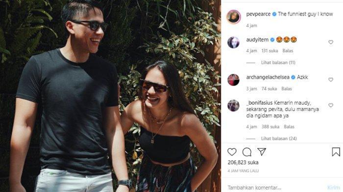 Pevita Pearce unggah foto bareng Arsyah Rasyid