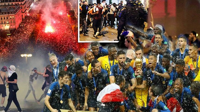 6 Momen Trending Perancis Kalahkan Kroasia di Final Piala Dunia, dari Mengharukan hingga Mencekam