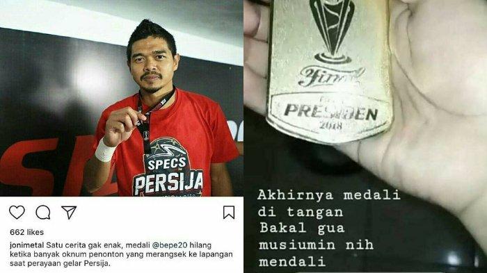 Medali Piala Presiden Milik BP Hilang, Ternyata Dicolong Netter ini, Netizen: Maling Bangga
