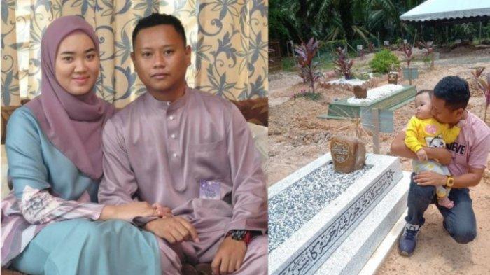 Istri Meninggal 40 Hari Setelah Lahiran, Pilu Sang Suami Rayakan Anniversary Pernikahan di Pusara