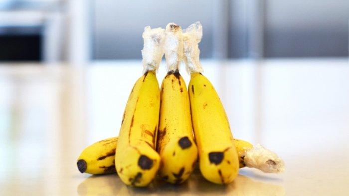 Menutup batang pisang.