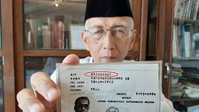 PNS Pertama di Indonesia Pemilik NIP 010000001 Ternyata Bukan Orang Sembarang, Ini Sosoknya