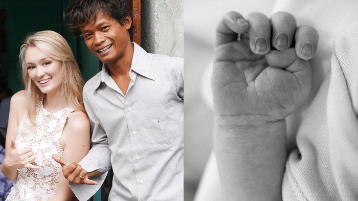 SELAMAT, Polly Alexandria Melahirkan, Nur Khamid Kini Punya Bayi Bule, Langsung Pamer Foto sang Anak