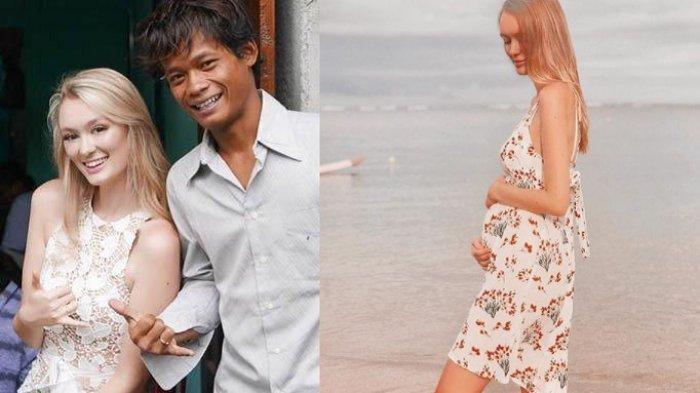 SELAMAT! Polly Alexandria Istri Pria Magelang Hamil, Nur Khamid Bakal Segera Punya Anak Blasteran