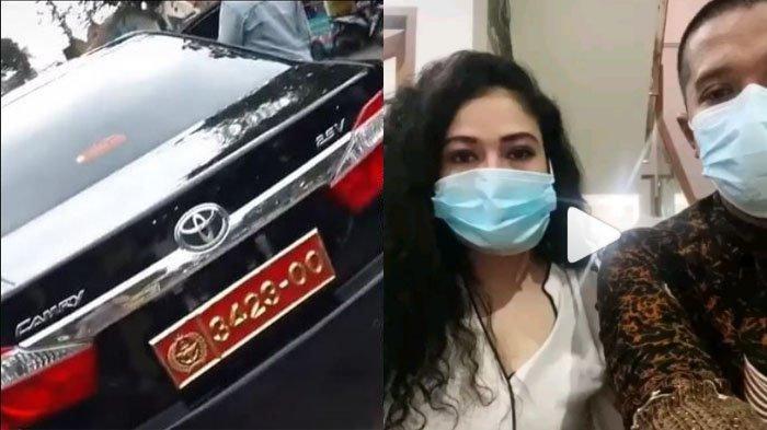 Sosok Pooja Wanita yang Pamer Mobil Dinas TNI Ternyata Platnya Bodong, Sudah Buat Video Minta Maaf