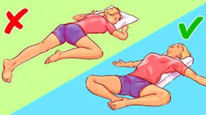 Tidur terlentang