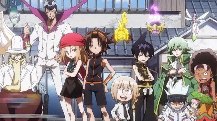 Poster anime Shaman King.