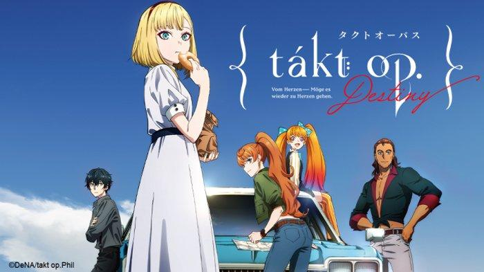 Poster anime Takt Op. Destiny.