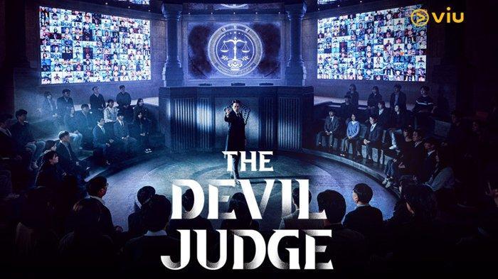 Poster drama Korea The Devil Judge, tayang di Viu.