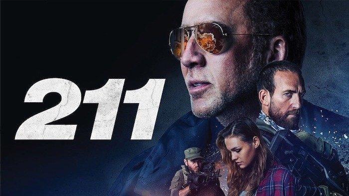 Poster film 211, dibintangi Nicolas Cage.