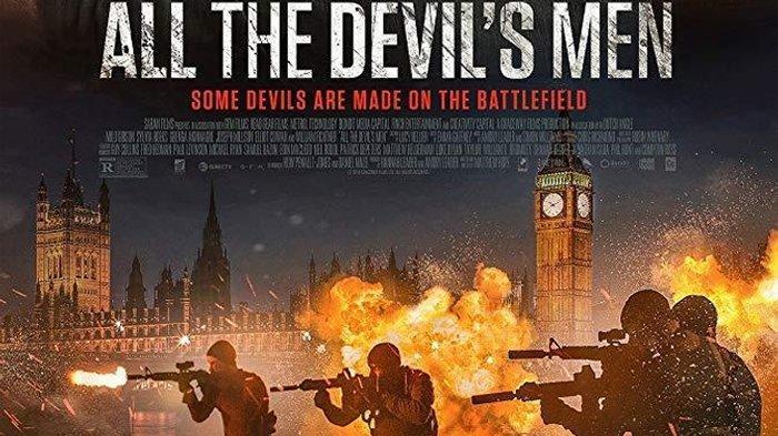 Poster film All the Devil's Men.