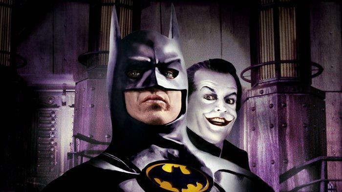 Poster film Batman (1989).