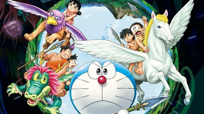 Poster film Doraemon: Nobita and The Birth of Japan.