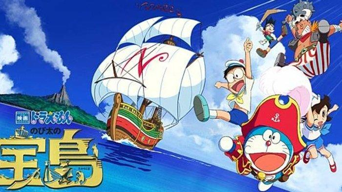 Sinopsis Film Doraemon: Nobita's Treasure Island Bioskop Trans TV Malam Ini Pukul 19.30 WIB
