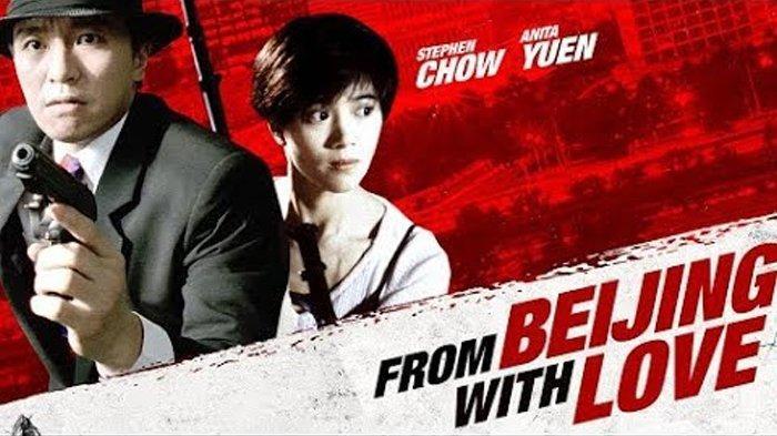 Poster film From Beijing with Love, dibintangi Stephen Chow dan Anita Yuen.