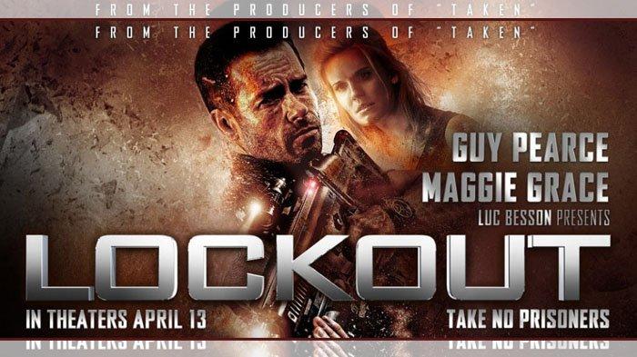 Poster film Lockout.
