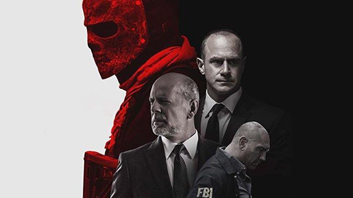 Poster film Marauders, dibintangi Bruce Willis.