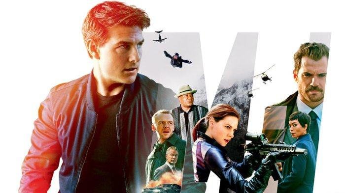 Poster film Mission Impossible Fallout.