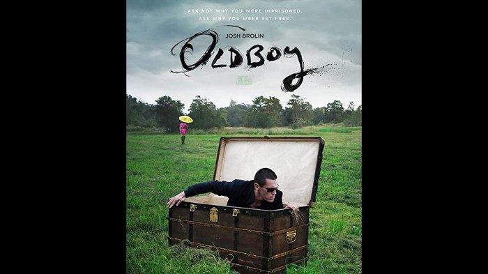 Poster film Oldboy (2013).