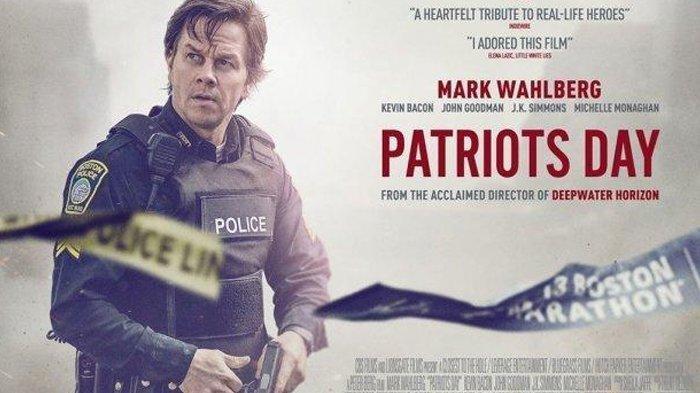 Poster film Patriots Day, dibintangi Mark Wahlberg.