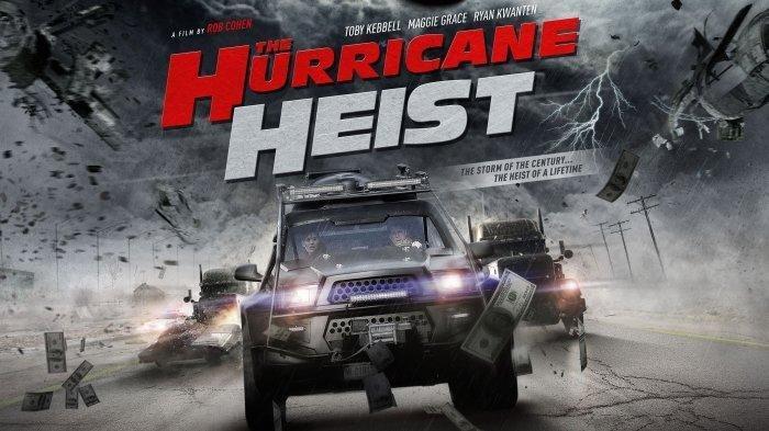 Poster film The Hurricane Heist.
