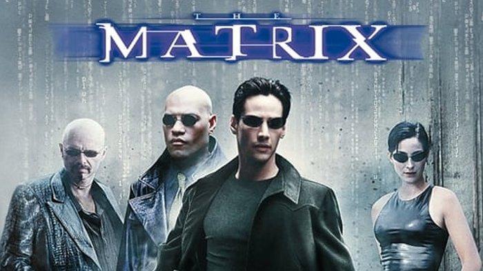 Poster film The Matrix.