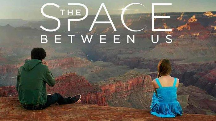 Poster film The Space Between Us.