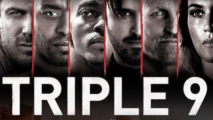 Poster film Triple 9.