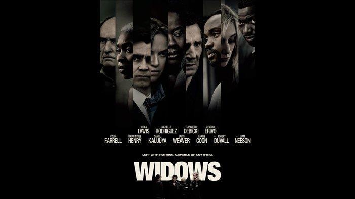 Poster film Widows (2018).