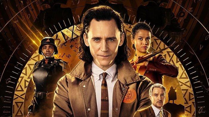 Poster serial Marvel Loki.