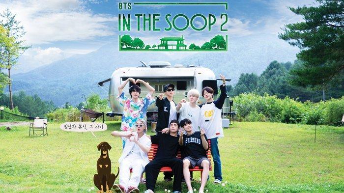 Poster teaser In The SOOP season 2, BTS.
