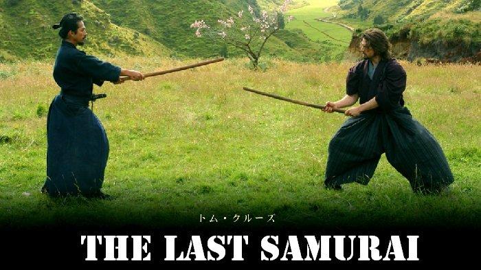 Poster film The Last Samurai.