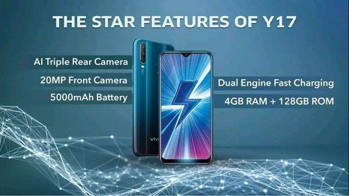 Bocoran Bentuk dan Spesifikasi Vivo Y17, Dikabarkan Siap Rilis April Ini, Dibekali Triple Kamera