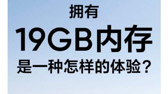 Poster yang mengungkapkan bahwa Realme GT 5G Edition bisa tambah RAM hingga 19GB