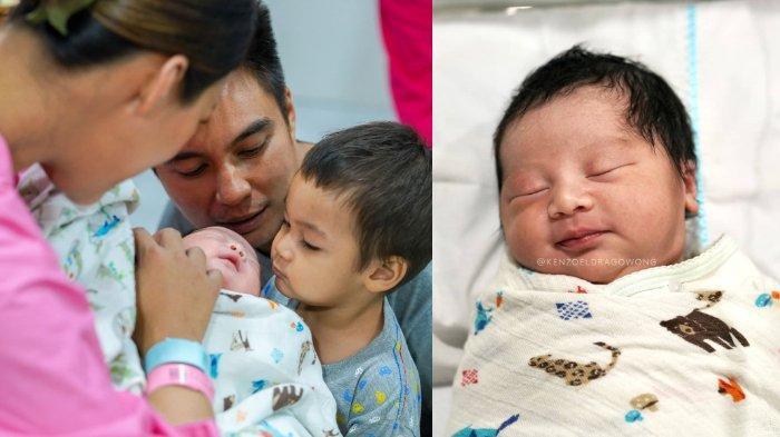 6 Potret Tampan Anak Kedua Baim Wong & Paula, Intip Gemasnya Tiktok Pertama Kenzo Eldrago Wong