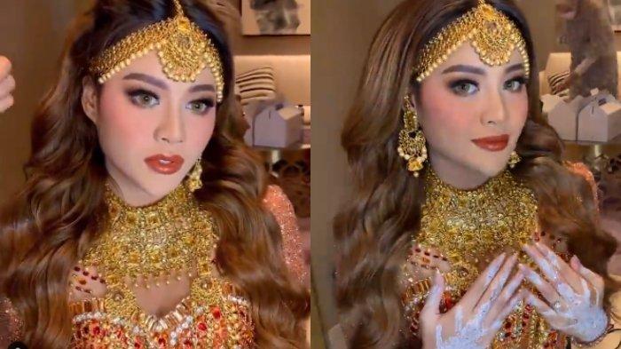 POTRET Aurel di Momen Henna Night, Calon Istri Atta Halilintar Tampil Menawan Jelang Pernikahan
